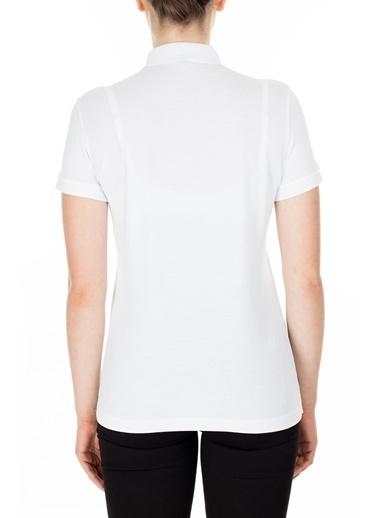 Armani Exchange  Polo T Shirt Kadın Polo 8Nyf73 Yj17Z 1000 Beyaz